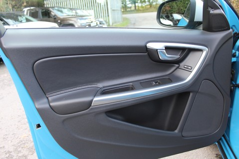 Volvo S60 D4 R-DESIGN LUX NAV - EURO 6 -CAMERA/DAB/HEATED LEATHER/REBEL BLUE 26