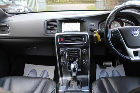 Volvo S60 D4 R-DESIGN LUX NAV - EURO 6 -CAMERA/DAB/HEATED LEATHER/REBEL BLUE 29
