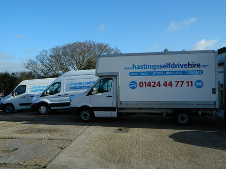 Hire Vans & Cars in Hastings 5