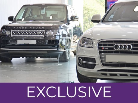 Used Range Rover And Audi