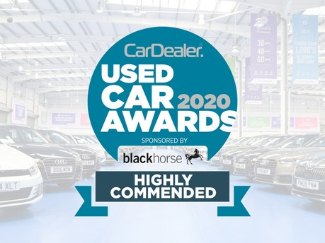 We've Been Highly Commended at the Used Car Awards!