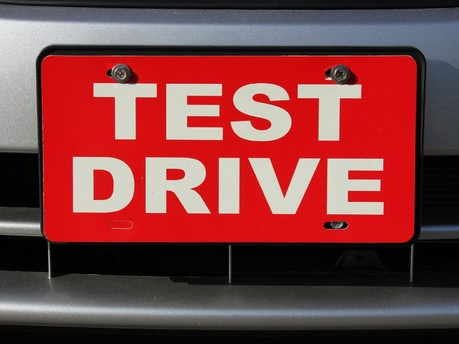 Top Tips for a Test Drive