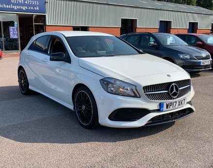 Mercedes-Benz A Class A 180 D AMG LINE EXECUTIVE 4