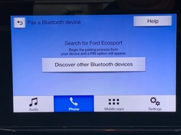 Ford Ecosport ZETEC 24