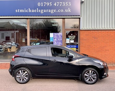 Nissan Micra IG-T N-CONNECTA 10