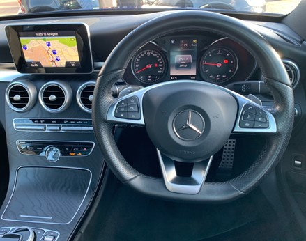 Mercedes-Benz C Class C220 D AMG LINE PREMIUM 18