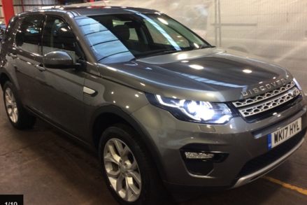 Land Rover Discovery Sport TD4 HSE 1