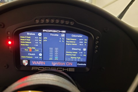 Porsche 911 991.2 Carrera Cup GT3 Technical Data